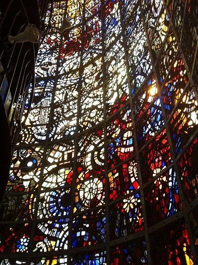 彫刻の森美術館 ステンドガラス