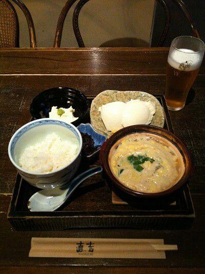 湯葉丼 直吉 料理