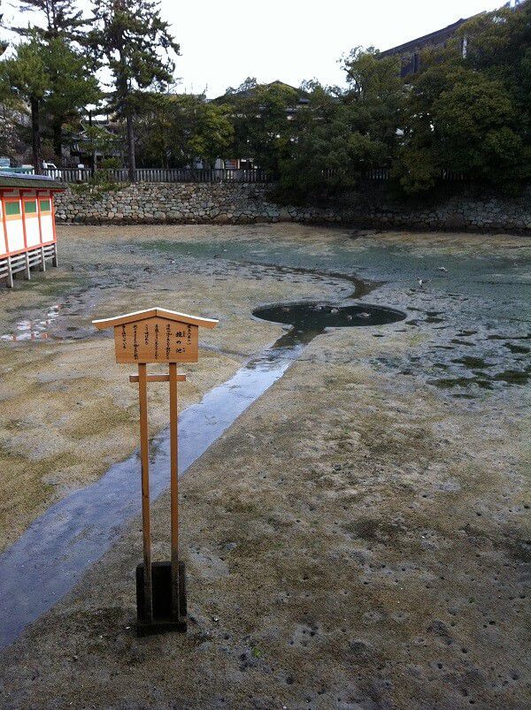 宮島_厳島神社_鏡の池
