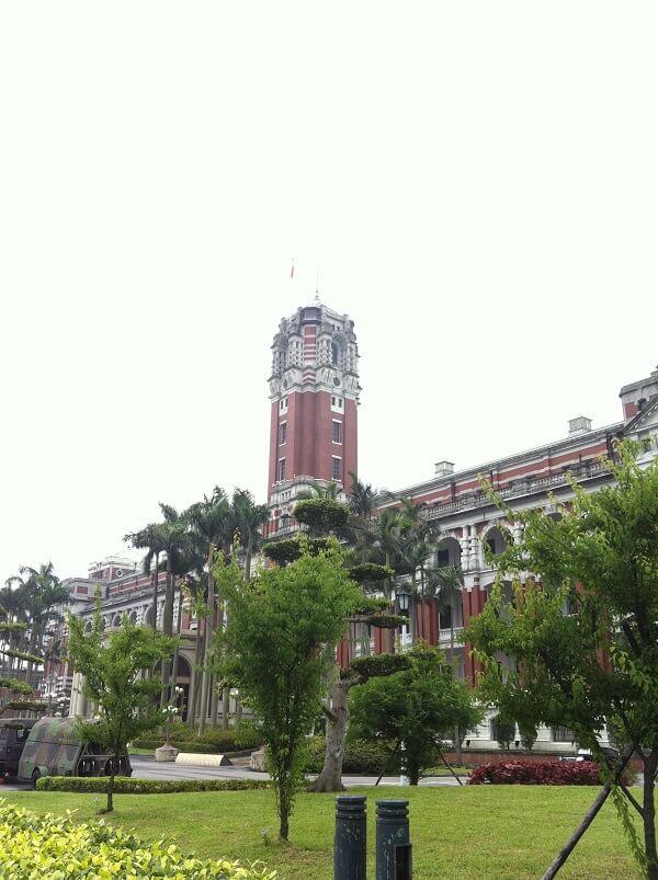 台湾 - 総統府
