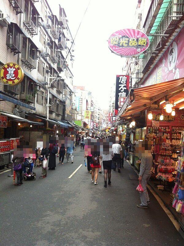台湾 - 淡水_商店街