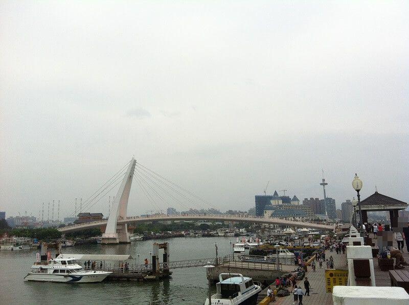 台湾 - 淡水_漁人碼頭_情人橋