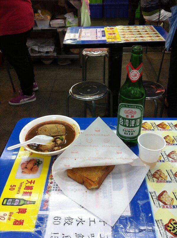 台湾 - 士林夜市_ 士林市場_腐豆腐