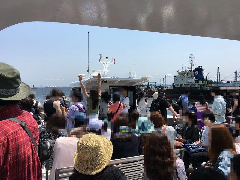 猿島_船上