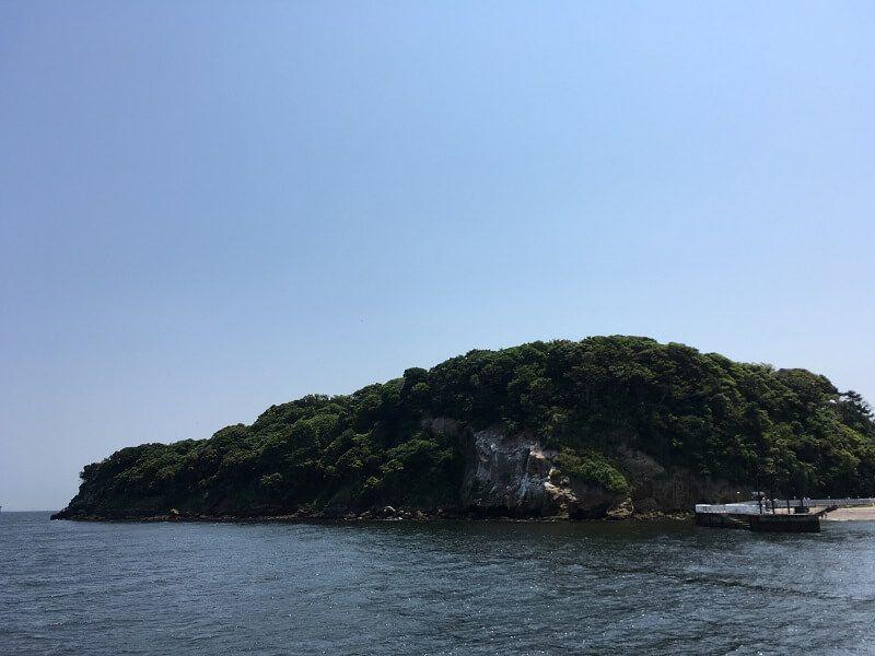 猿島_船上からの眺め2