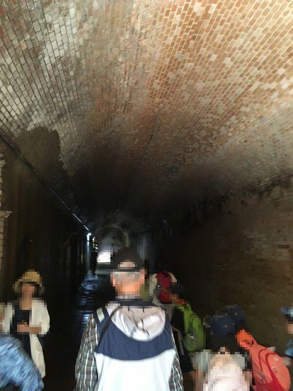 猿島_レンガ造りのトンネル_愛のトンネル3