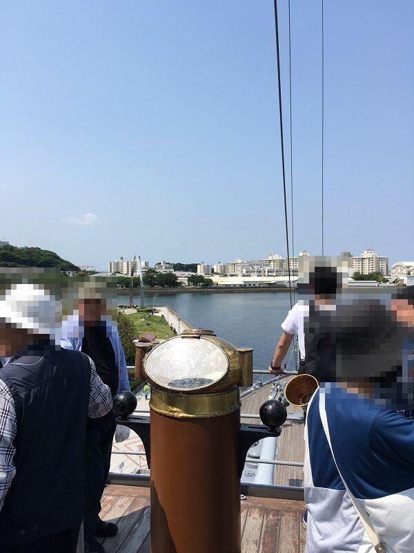 戦艦三笠_最上艦橋