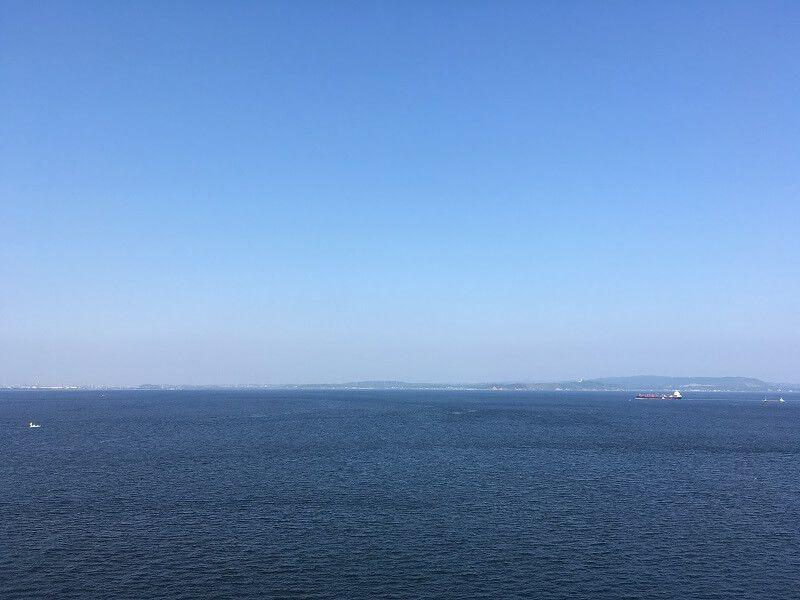 観音崎灯台からの眺め2