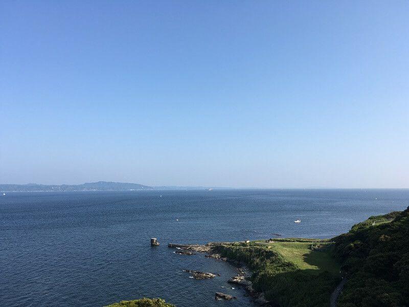 観音崎灯台からの眺め1