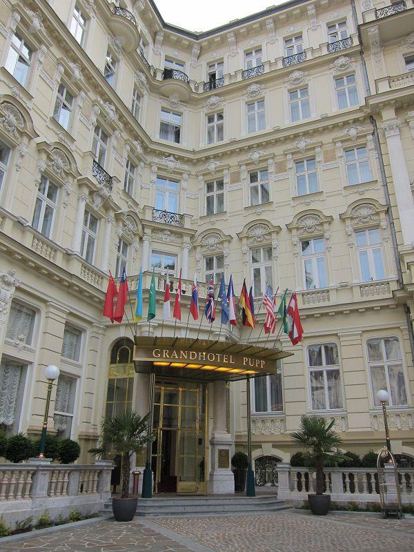 チェコ カルロヴィ・ヴァリ グランドホテル・プップ 007 カジノ・ロワイヤル2