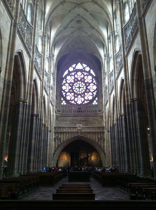 チェコ プラハ プラハ城 聖ヴィート大聖堂6