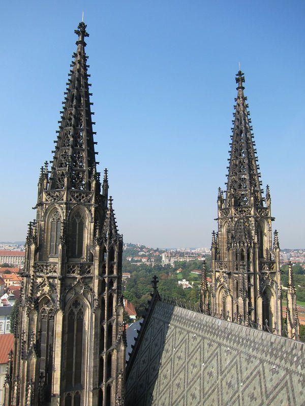 チェコ プラハ プラハ城 聖ヴィート大聖堂 屋上2