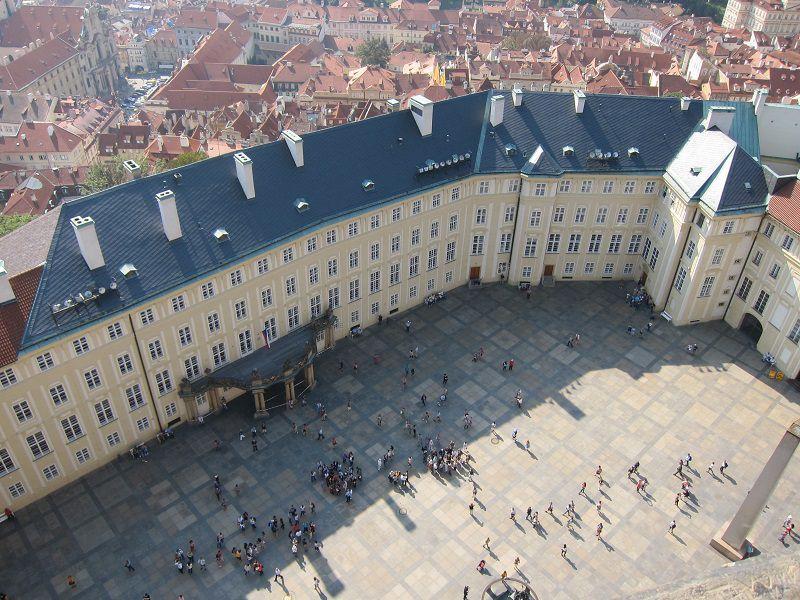 チェコ プラハ プラハ城 聖ヴィート大聖堂 屋上からの景色3