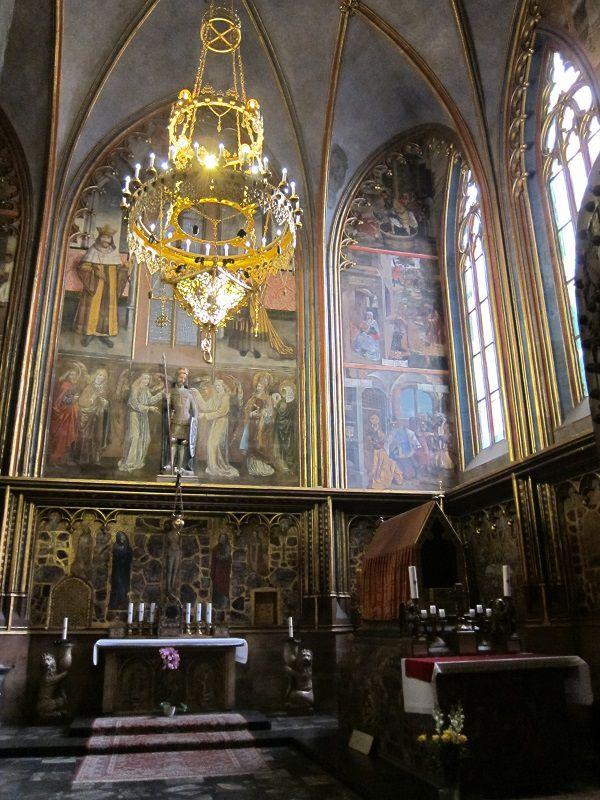 チェコ プラハ プラハ城 聖ヴィート大聖堂7