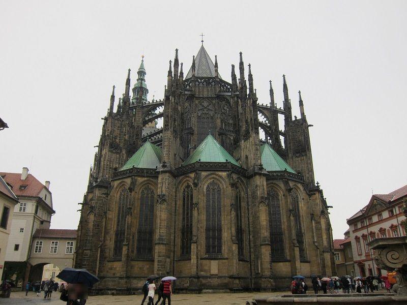チェコ プラハ プラハ城 聖ヴィート大聖堂9