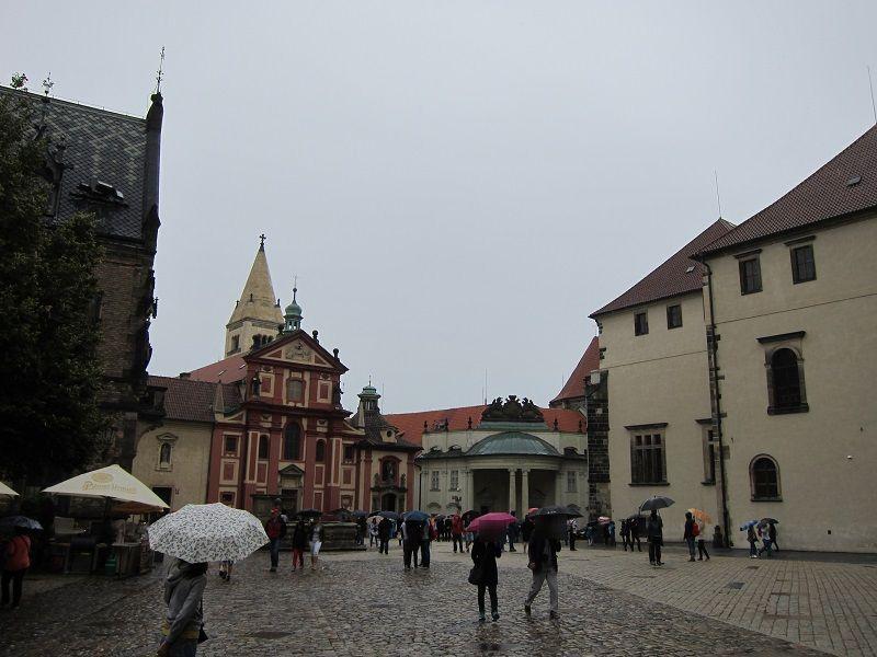 チェコ プラハ プラハ城内