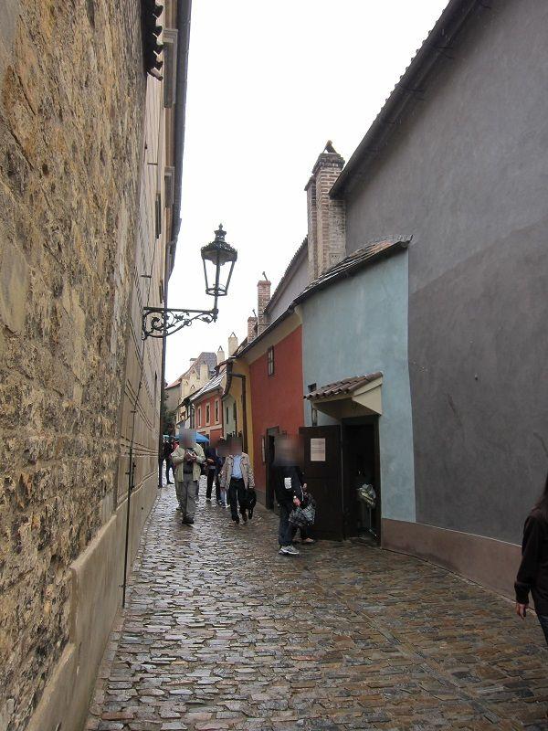 チェコ プラハ プラハ城 黄金の小道1
