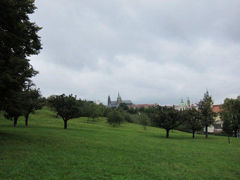 チェコ プラハ ペトシーンの丘1