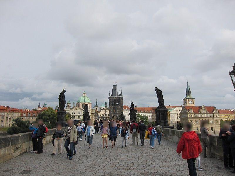 チェコ プラハ カレル橋1