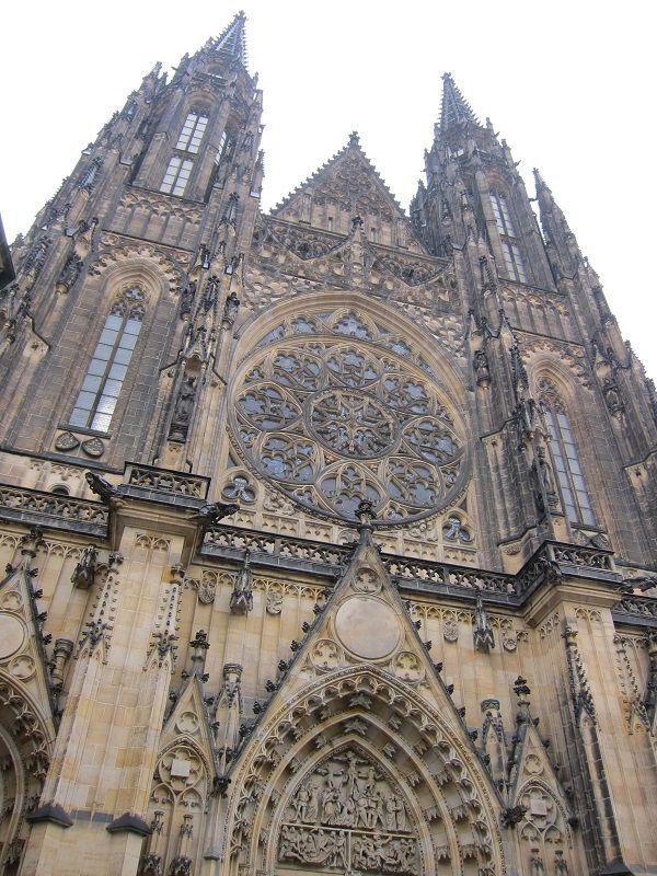 チェコ プラハ プラハ城 聖ヴィート大聖堂1