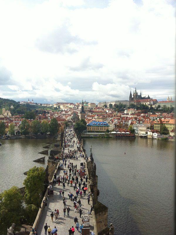 チェコ プラハ カレル橋3