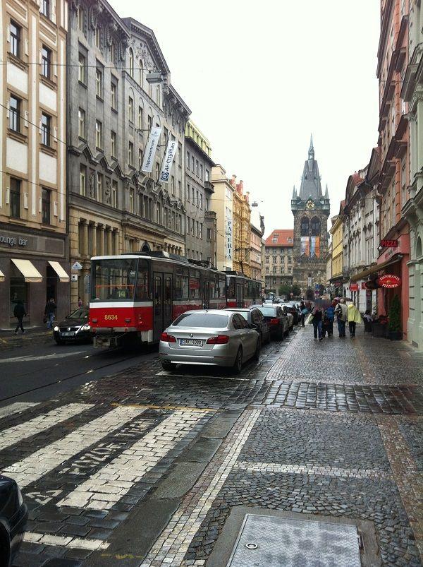 チェコ プラハ 街1