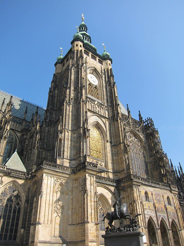 チェコ プラハ プラハ城 聖ヴィート大聖堂2