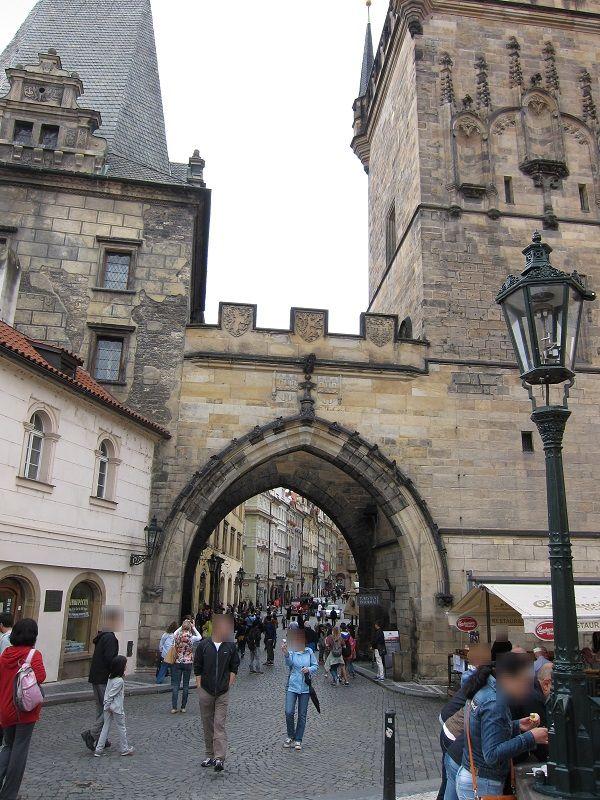 チェコ プラハ 街2