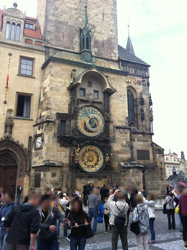 チェコ プラハ 旧市街 天文時計