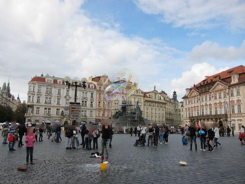 チェコ プラハ 旧市街広場1
