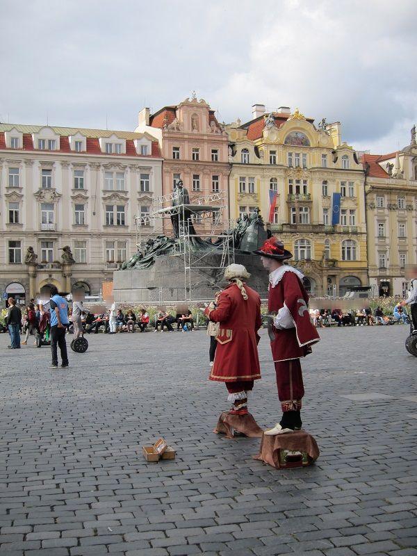 チェコ プラハ 旧市街r広場2