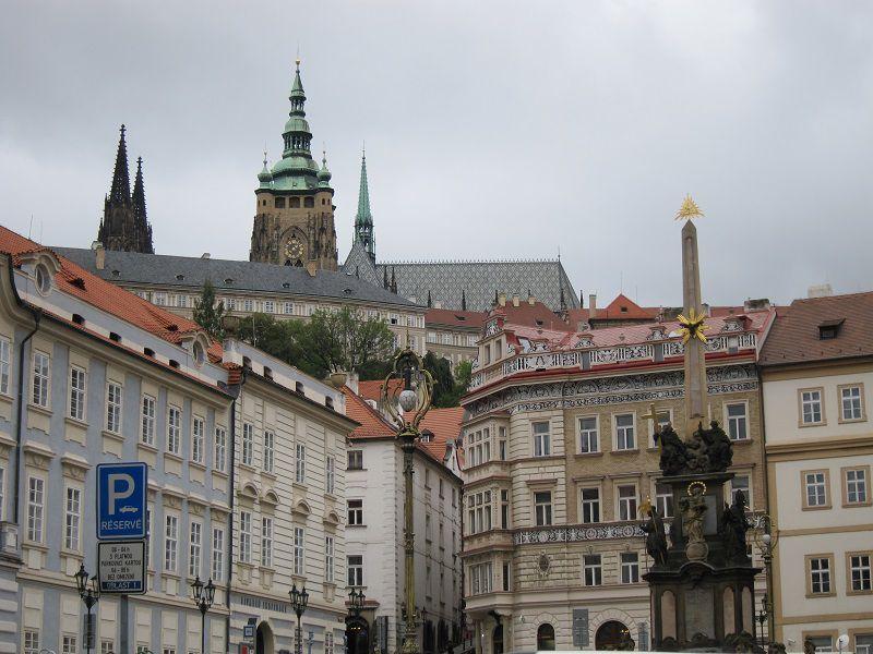 チェコ プラハ オベリスク