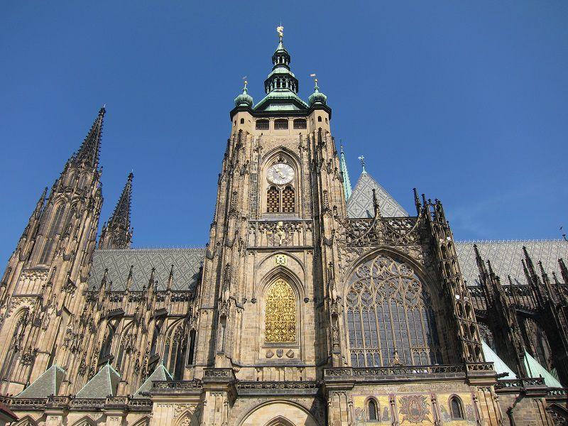 チェコ プラハ プラハ城 聖ヴィート大聖堂3