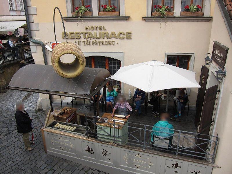 チェコ プラハ パン屋