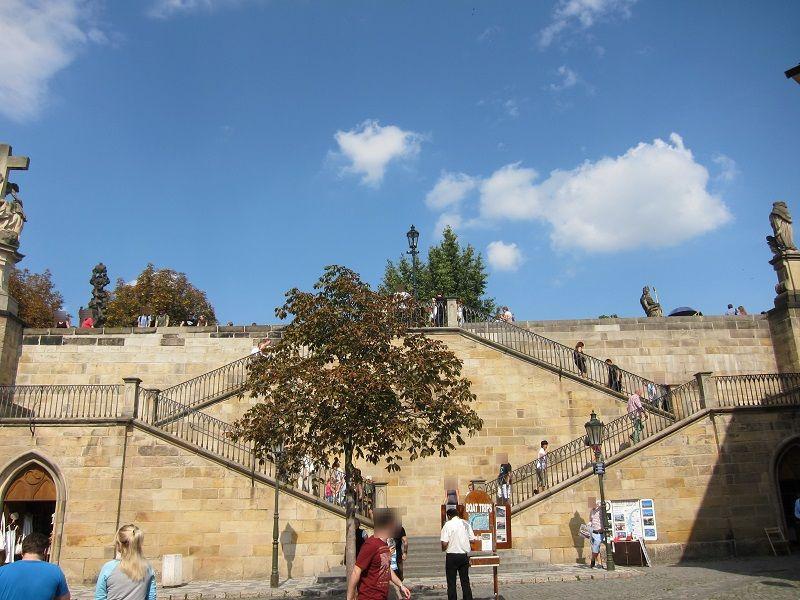 チェコ プラハ ミッション:インポッシブルの階段