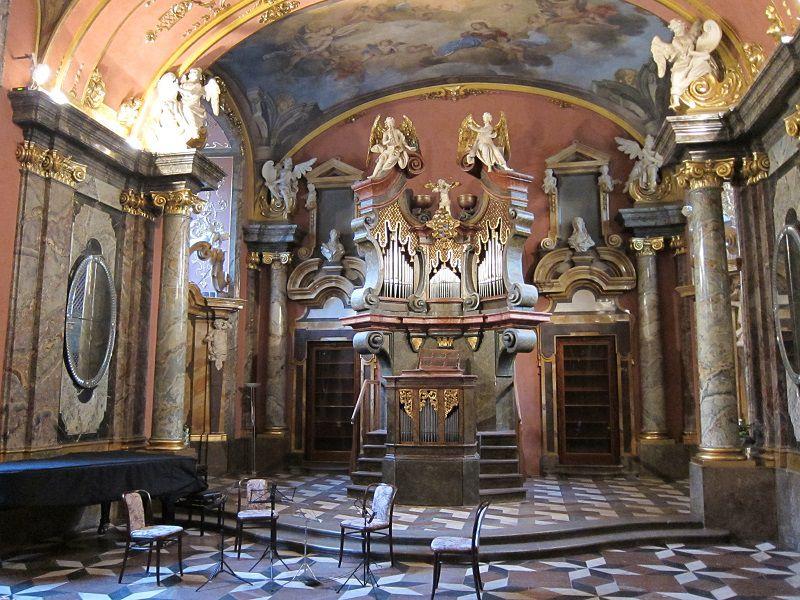 チェコ プラハ 教会コンサート1