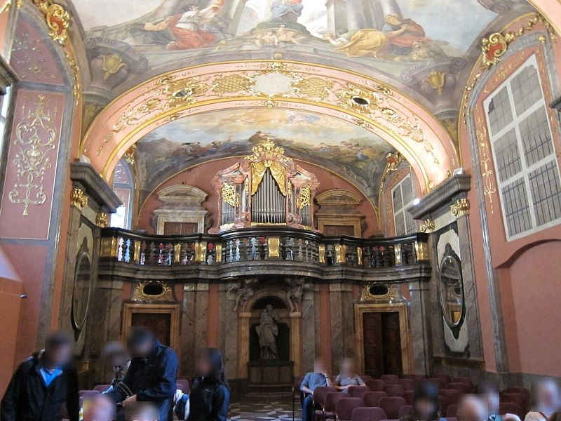 チェコ プラハ 教会コンサート2