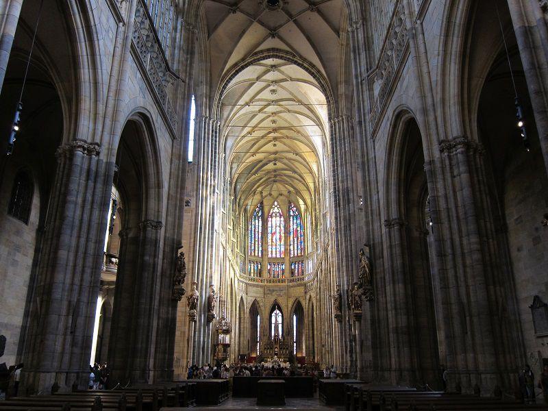 チェコ プラハ プラハ城 聖ヴィート大聖堂4