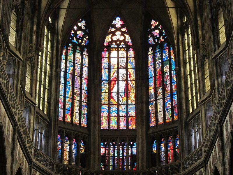 チェコ プラハ プラハ城 聖ヴィート大聖堂5