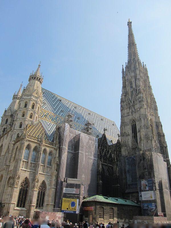 オーストリア ウィーン シュテファン大聖堂1