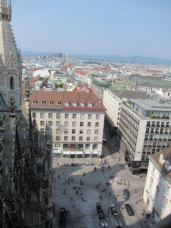 オーストリア ウィーン シュテファン大聖堂からの景色2