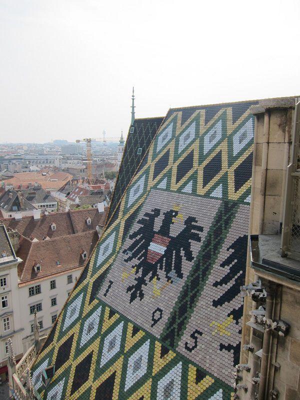 オーストリア ウィーン シュテファン大聖堂からの景色3