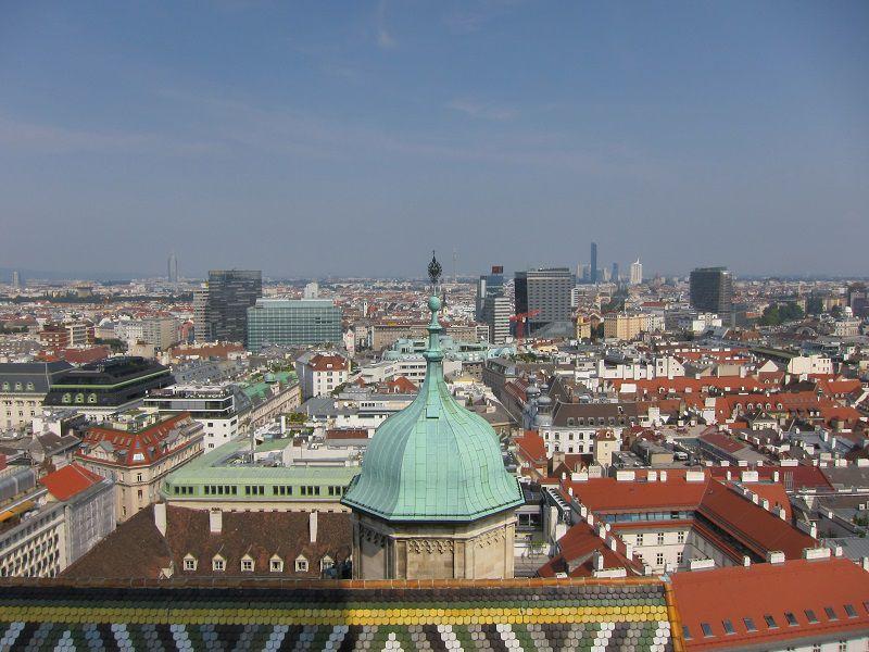 オーストリア ウィーン シュテファン大聖堂からの景色4