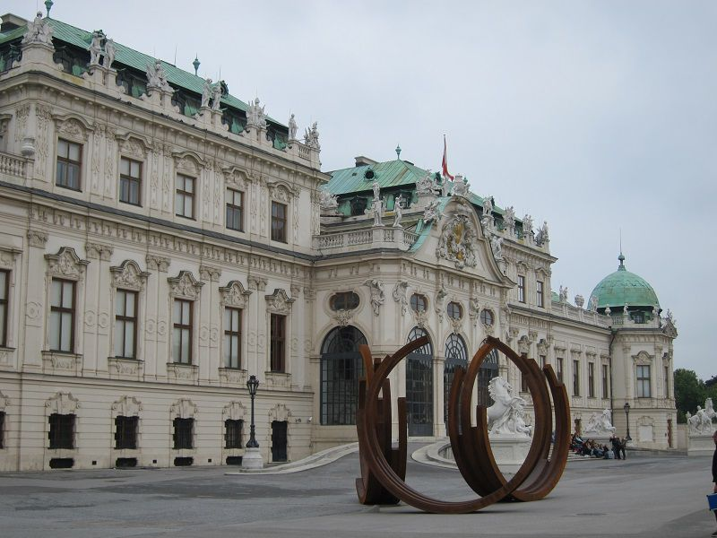オーストリア ウィーン ベルヴェデーレ宮殿1