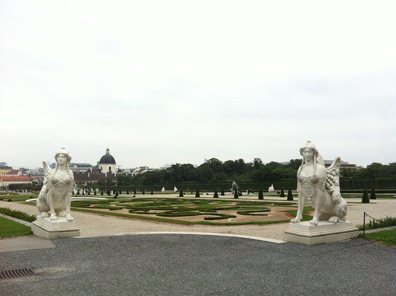 オーストリア ウィーン ベルヴェデーレ宮殿2