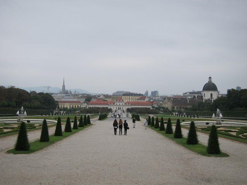 オーストリア ウィーン ベルヴェデーレ宮殿3