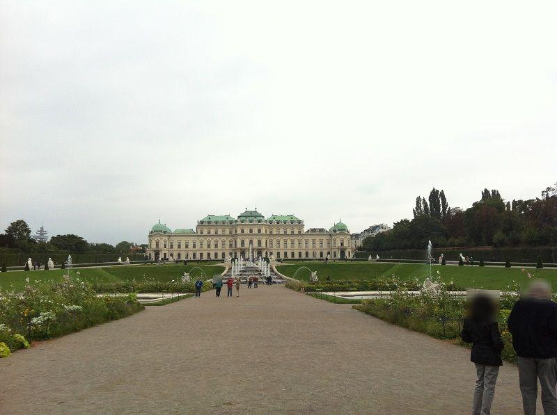 オーストリア ウィーン ベルヴェデーレ宮殿4