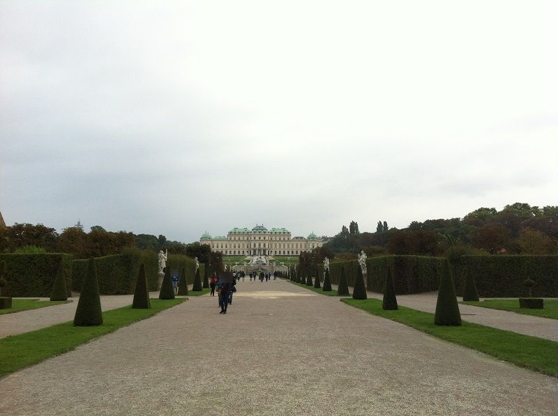オーストリア ウィーン ベルヴェデーレ宮殿5