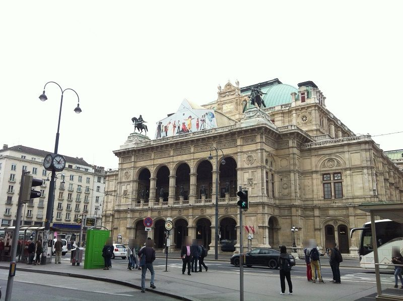 オーストリア ウィーン ウィーン国立歌劇場 (国立オペラ座)