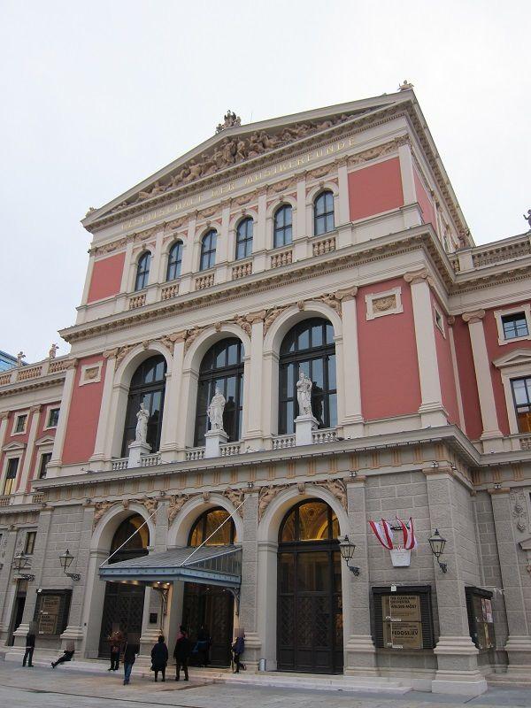 オーストリア ウィーン ウィーン楽友協会ホール1